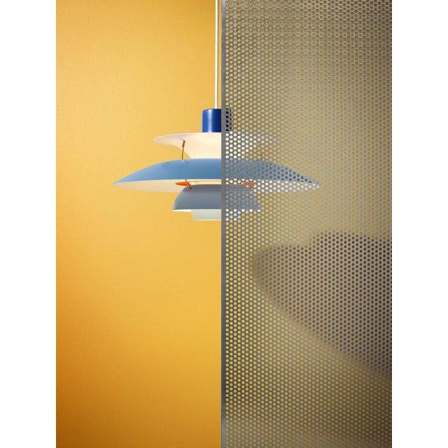 Poul Henningsen Ph 5 Pendant for Louis Poulsen in Rose For Sale - Image 11 of 13