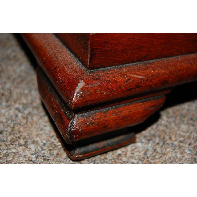 19th Century Tall Wooden Storage Box For Sale In New York - Image 6 of 7