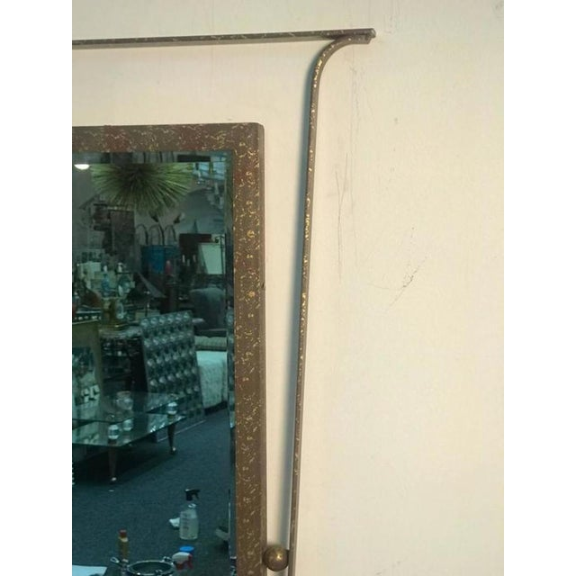 Glass Gorgeous Carvers Guild Wall Mirror in the Manner of Jean Royere For Sale - Image 7 of 9