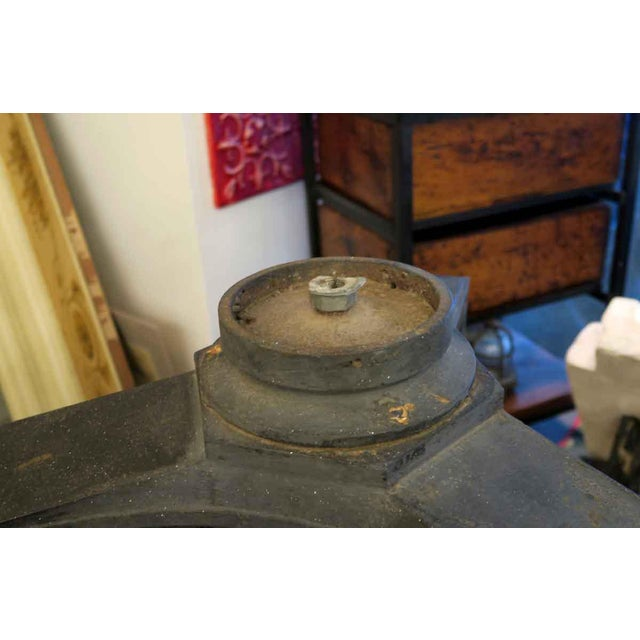 Cast Iron Exterior Claw Foot Lamp Posts - a Pair For Sale - Image 10 of 12