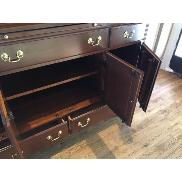 Solid Cherry Buffet Cabinet by Colonial Furniture - Image 6 of 11