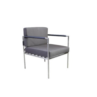 Costantini Rinaldo Modern Outdoor Steel Dining Chair For Sale