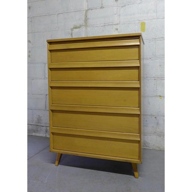 Baumritter Mid-Century Modern Dresser - Image 4 of 6