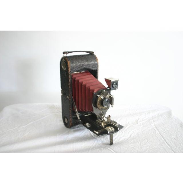Kodak Red Bellow Folding Camera - Image 6 of 6