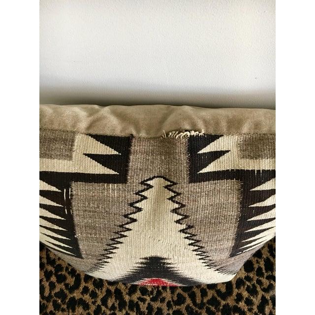 Geometric Navajo Weaving Pillows - Pair - Image 6 of 6