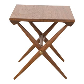 Jens Quistgaard Teak Side Table