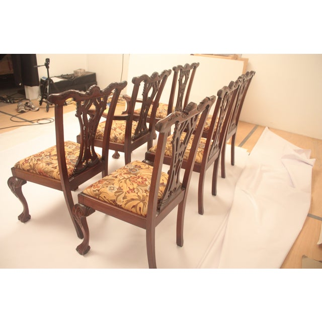 Chippendale Style Dining Chairs - Set of 6 - Image 3 of 11