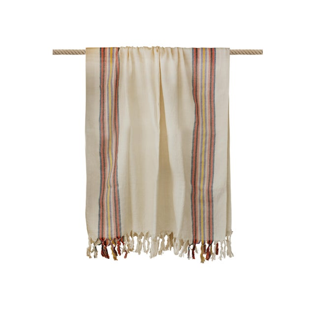 Turkish Hand Made Towel With Natural/Organic Cotton For Sale In New York - Image 6 of 8
