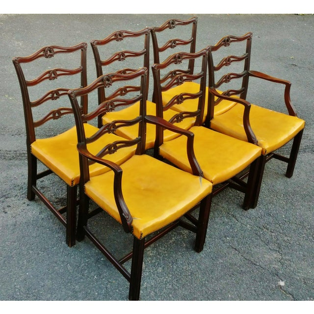 Fresh from local Rye New York estate, we have a pleasure to offer you this Antique 19th century SET of SIX traditional...