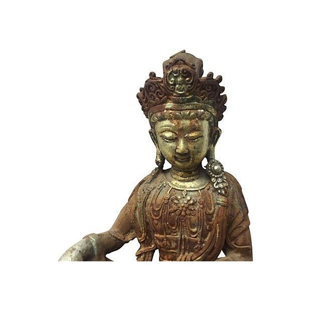 Antique Goddess, Quan Yin - Image 2 of 7