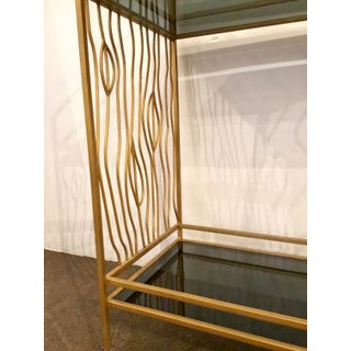 Currey & Co. Modern Black and Gold Bar Cart Prototype Preview