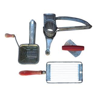 Vintage Depression-Era Kitchen Utensils - Set of 4 For Sale