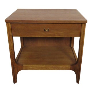 Vintage Side Table by Broyhill Brasilia For Sale