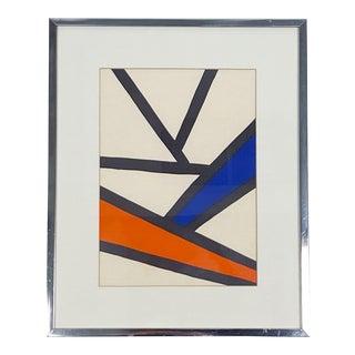 Alexander Calder Derriere Le Miroir Vintage Framed Print For Sale
