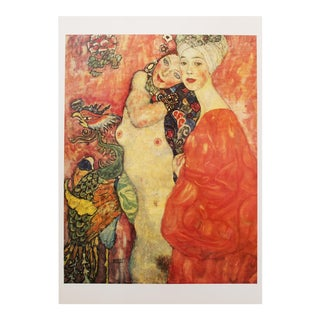 "1996 Gustav Klimt ""The Girlfriends"", Second Edition Small Poster For Sale"