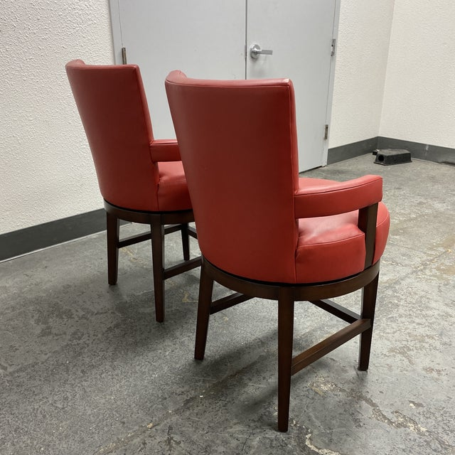 2010s Wheeler Design Group Counter Stools - a Pair For Sale - Image 5 of 12