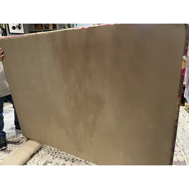 1920's Cal King Suzani Headboard For Sale In Los Angeles - Image 6 of 8