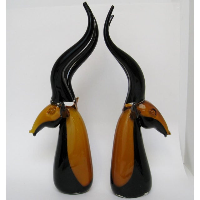 Vintage Murano Antelopes - A Pair - Image 4 of 8