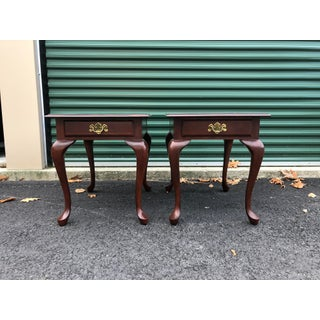 Solid Cherry Nightstand End Tables- a Pair Preview
