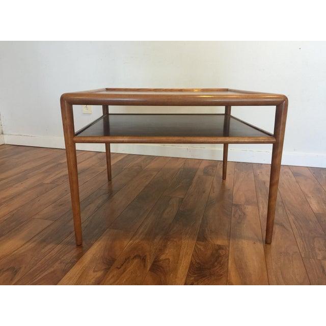 T.H. Robsjohn-Gibbings for Widdicomb Square Table For Sale - Image 9 of 10