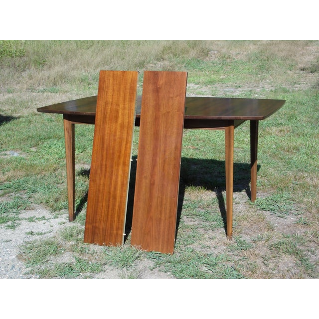 Mid-Century Modern Walnut Dining Set For Sale - Image 9 of 11