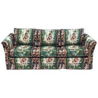 Moroccan Tropical Theme Elephant Sleeper Sofa For Sale