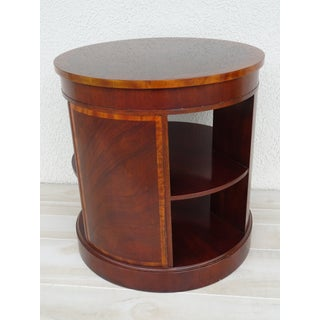 20th Century Traditional Baker Furniture Round End Table Preview
