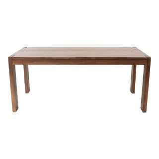 American Mission Walnut Dining Table For Sale