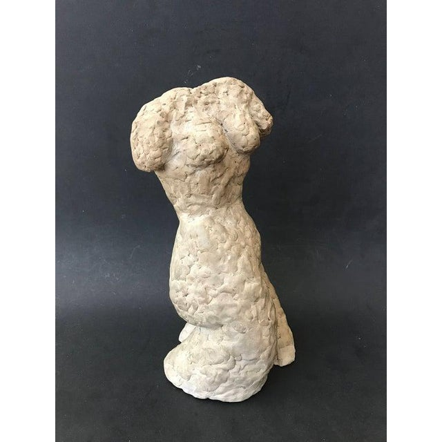 Figurative 1955 Eames Era Mid-Century Modern Hand Crafted Torso Sculpture For Sale - Image 3 of 9