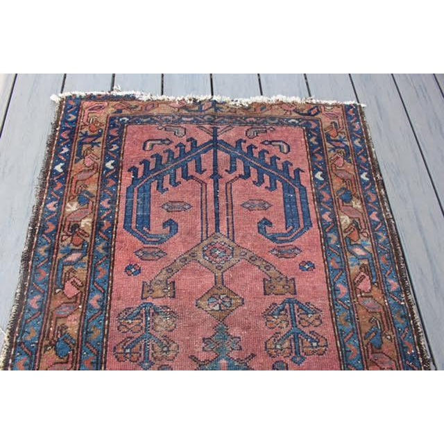 "Antique Persian Balouch Rug - 2'10"" x 5' - Image 8 of 8"
