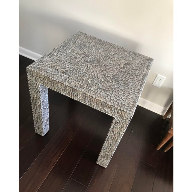 """Dimensions: 22 inches x 22 inches x 22 inches """"Our new Perla collection of Parsons tables offers versatility to the max,..."""