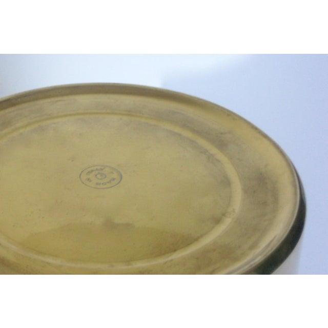Mid-Century Italian Brass & Teak Ice Bucket - Image 12 of 13