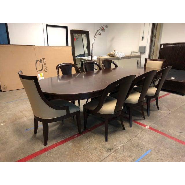 Bernhardt Furniture Martha Stewart Whitney Opal Point Collection Table Set
