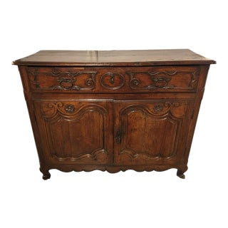 Louis XV Period Bordelaise Walnut Two Door Buffet
