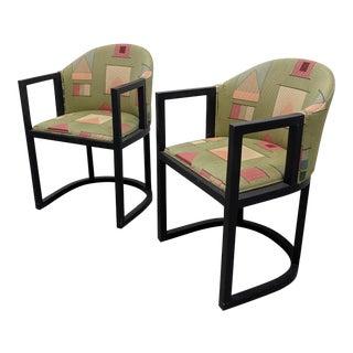 Antique Vienna Workstatte Chairs by Hans Vollmer - a Pair For Sale
