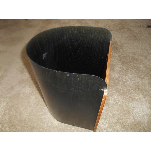 Mid-Century Modern Designer Giorgio Pizzitutti Milano Waste Basket For Sale - Image 4 of 6