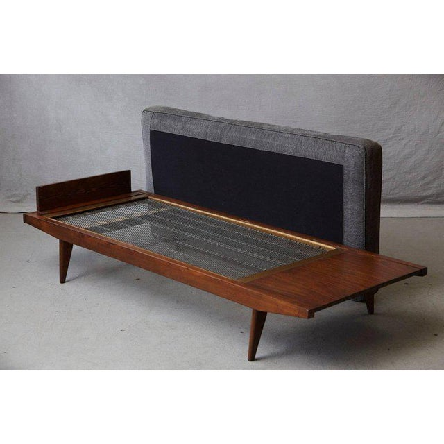 French Lit De Repos or Daybed by Melior Marchot, 1950s For Sale In New York - Image 6 of 10
