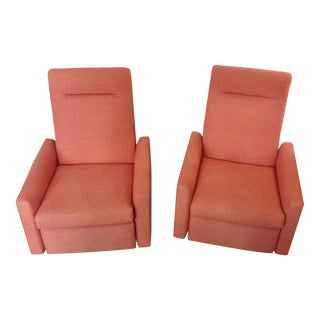 Mitchell Gold & Bob Williams Tilton Recliner Chairs - A Pair For Sale