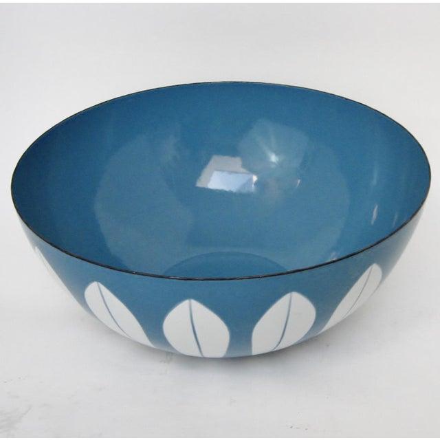 Mid-Century Modern Cathrineholm Enameled Serving Bowl For Sale - Image 3 of 6