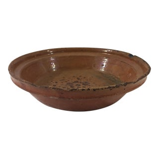 French Red Cassoulet Bowl For Sale