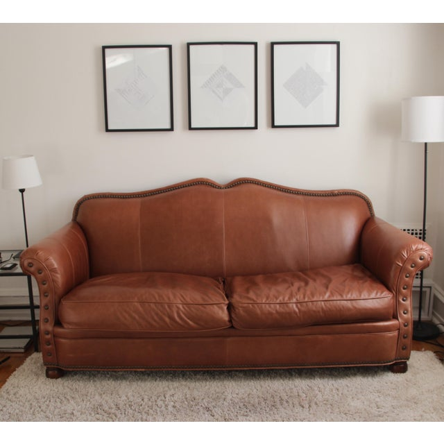 Lillian August Leather Sofa - Image 2 of 7