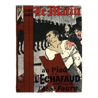 1966 Mourlot Toulouse Lautrec Le Matin Lithograph 9 For Sale
