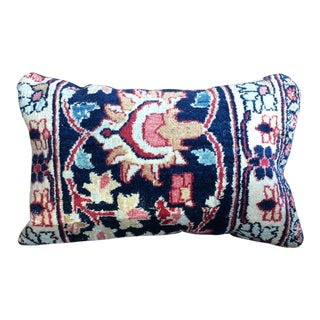 Antique Persian Meshad Wool Pillow