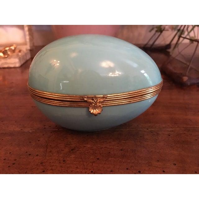 Limoges Egg Shaped Trinket Box - Image 4 of 5