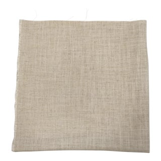 Natural Heavy Linen Fabric For Sale