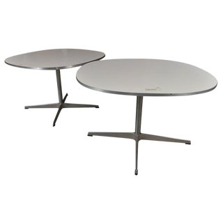 Fritz Hanson Tables Made in Denmark Designed by Bruno Mathsson -- A Pair For Sale