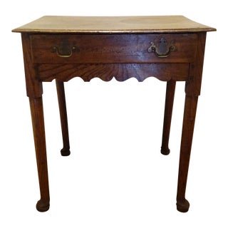 Antique English Oak Country Table