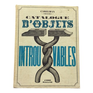 Catalogue D'Objets Introuvables Book For Sale