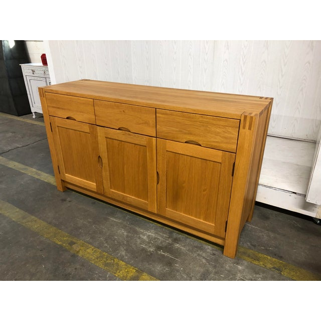 1900s Danish Modern Oak Dresser For Sale In Nashville - Image 6 of 10