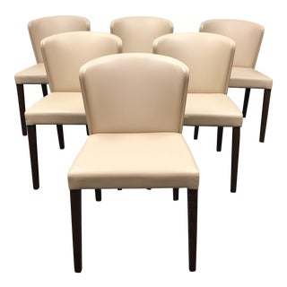 Crate & Barrel Curran Dining Chairs - Set of 6